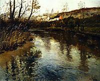 River Landscape, thaulow