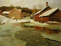 Winter, thaulow