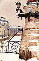 Winter in Paris, thaulow