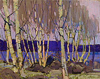 Evening, Canoe Lake, 1916, thomson