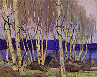 Evening, Canoe Lake, 1916, thomson