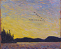 Round Lake, Mud Bay, 1915, thomson