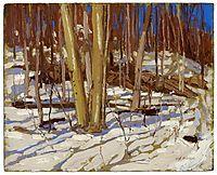 Untitled (Wooden Landscape), 1917, thomson