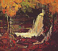 Woodland Waterfall, 1916, thomson