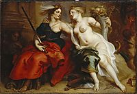 Allegory of Justice and Peace, thulden