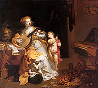 Allegory of Vice, thulden