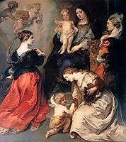 Theodoor Flanders and Brabant honour Maria, thulden