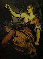 Allegory of Prudence, tintoretto