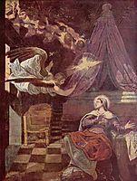 Annunciation, 1581, tintoretto