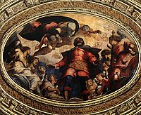 The Apotheosis of St Roch, 1564, tintoretto