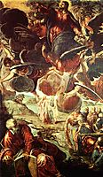 Ascension of Christ, 1581, tintoretto