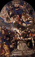 The Assumption, 1555, tintoretto