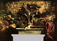 The Assumption of the Virgin, 1594, tintoretto