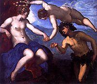 Bacchus and Ariadne, 1578, tintoretto