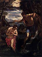Baptism of Christ, 15, tintoretto