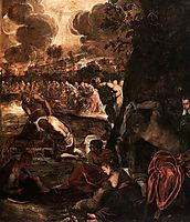 The Baptism of Christ, tintoretto