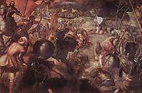 The battle of the Taro, 1579, tintoretto