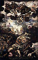 The Brazen Serpent, 1576, tintoretto