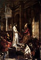 Christ before Pilate, 1567, tintoretto