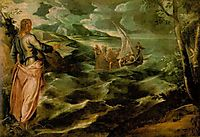 Christ beside the Sea of Galilee, 1575-80, tintoretto