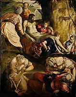 Christ Carried to the Tomb, c.1565, tintoretto