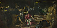 Christ washing the Feet of the Disciples, tintoretto