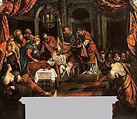 The Circumcision, c.1587, tintoretto