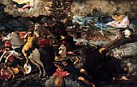 The Conversion of Saul, c.1545, tintoretto