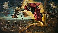 Creating animals, 1551-52, tintoretto