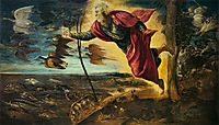Creation of the Animals, 1551, tintoretto