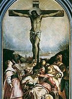 Crucifixion, tintoretto