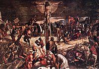 Crucifixion, 1565, tintoretto