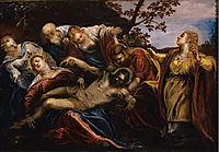 Deploration of Christ, tintoretto