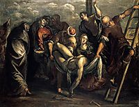 The Descent from the Cross, 1557-59, tintoretto