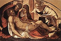 The Descent from the Cross, 1563, tintoretto