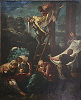 The descent from the Cross, 1580, tintoretto