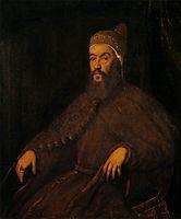 Doge Alvise Mocenigo, c.1570, tintoretto