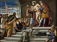 Ecce Homo(Pontius Pilate Presenting Christ to the Crowd), 1547, tintoretto