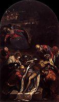 Entombment, 1592-94, tintoretto