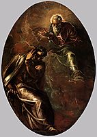The Eternal Father Appears to Moses, tintoretto