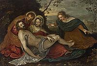 The Lamentation over the Dead Christ (Pietà), 1565, tintoretto