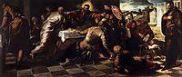The Last Supper, 1570, tintoretto