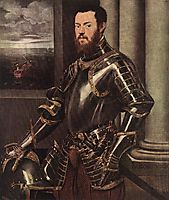 Man in Armour, c.1550, tintoretto
