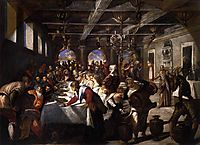 Marriage at Cana, 1561, tintoretto