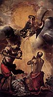 The Martyrdom of St Paul, c.1556, tintoretto