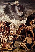 The Miracle of Saint Augustine, 1549, tintoretto