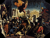 The Miracle of Saint Mark Freeing the slaves, 1548, tintoretto