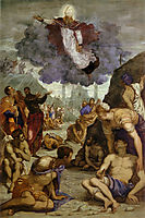 The Miracle of St Augustine, c.1550, tintoretto