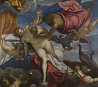 The Origin of the Milky Way, c.1575, tintoretto