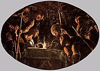 The Passover, 1578, tintoretto
